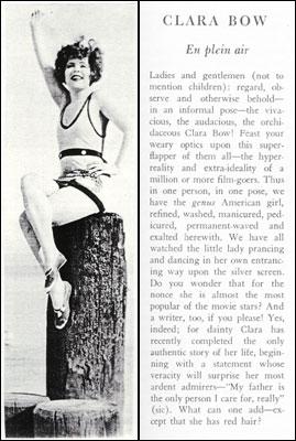 "Clara Bow the ""It"" Girl"