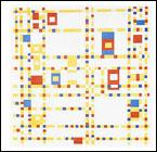 Piet Mondrian, Broadway Boogie Woogie, 1942 - MOMA, New York