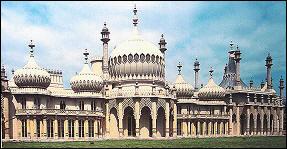 The Royal Pavilion in Brighton- 1815-1818 John Nash, Hindoo Gothic!