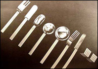 Russell Wright Silverware in Depression